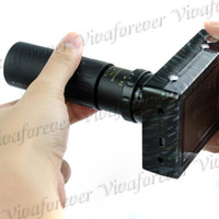 Wholesale 2pcs M Pixel KM Long Shot Telescope Zoom Digital Camera Digital Video with AV Cable