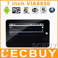 c7 via - 7 quot Epad Android Tablet PC M G VIA8650 MHz Ebook Youtube WIFI Webcam USB G