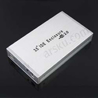 Wholesale 16PCS amp TrackingUSB IDE HDD External Hard Drive Disk Enclosure Case