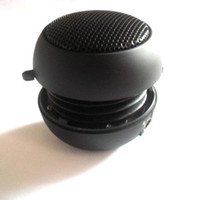 Wholesale Hot selliing HI FI hamburger Mini speaker for MP3 MP4 Notebook laptop Ipod mobile portable device