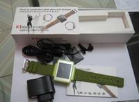Wholesale Watch K1 Quadband Wrist Watch Mobile quot LCD Camera Flashlight Bluetooth Cell Phone