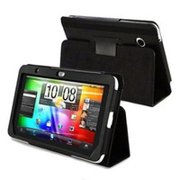 Wholesale Leather Case Cover with Stand for EVO View G PU Leather View Case for Flyer Tablet