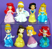 Wholesale Disneyi Princesses figure cinderella belle SET OF CUTE sets