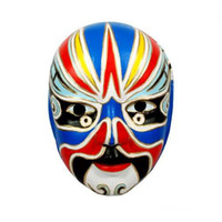 Wholesale Cheap Carnival Mask Masquerade Party Mask Dance Mask Chinese Culture Craft Mask mix Free