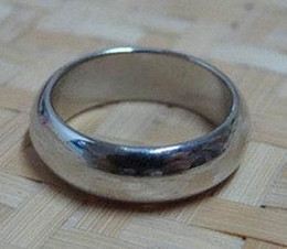 2 pcs per lot silver round Wizard PK Ring Magnetic Ring