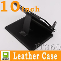 Wholesale 10 Inch Leather Case ZT180 Flytouch Tablet PC with Stand it360