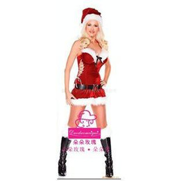 Wholesale 1pcs Christmas women Dress Christmas Costume Christmas Sexy Uniforms Role Playing