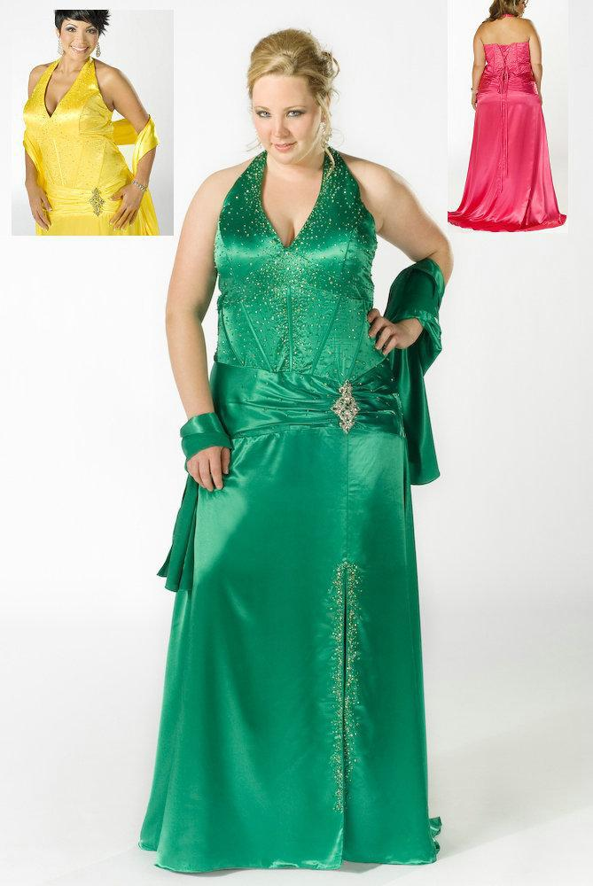 Larger Size Prom Dresses 2