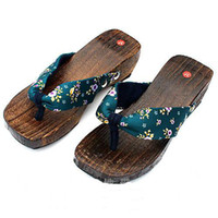 Wholesale Best Clogs shoe Silk Flip flops Japanese style flat slippers Ms flip slippers pair Free