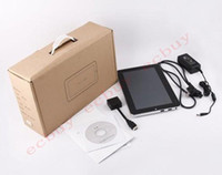 Wholesale 10 quot tablet pc Windows seven capacitive N455 G G win7 bluetooth camera laptops computer