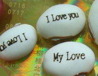 Wholesale Magic Growing Message Beans Seeds magic bean Valentine s Gift jackbean opcs