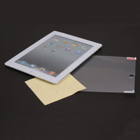 Wholesale New Front Matte Protector For iPad With Cleaning Cloth I00426
