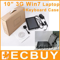 Wholesale 3G laptop Wifi tablet windows tablet G G Keyboard Case Screen Protector Stylus