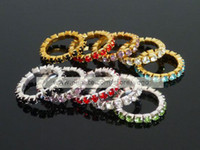 Wholesale 50 Off New Fashion Toe Rings Silver Gold Crystals Toe Ring Elastic Body Jewellery