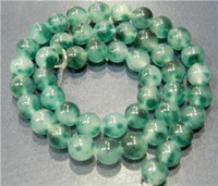 Wholesale 8MM Green Emerald Round Gemstone Loose Bead quot AAA