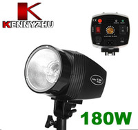 Wholesale Photo Studio Mini Strobe Flash Light K180A W GN With Pre flash Function For Fashion Shooting