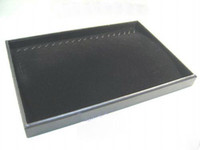 Wholesale JEWELLERY BLACK NECKLACE BRACELET DISPLAY CASE BOX TRAY