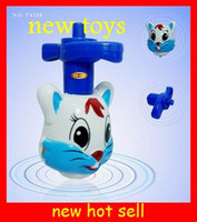 Wholesale New hot rabbit flash music top beyblade d kids toys Christmas gifts