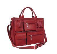 Wholesale Fashion style Slick Leather inch Laptop Briefcase Messenger Tote Bags lady bag shoulder bag
