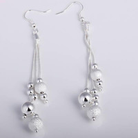 Wholesale lowest price Christmas gift Sterling Silver Fashion Earrings E06