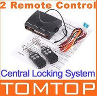 DC 12V   Free Shipping Car Remote Central Lock Locking Keyless Entry System with Remote Controllers K410