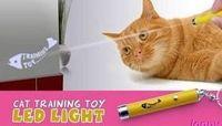 Wholesale LED TRAINING Cat Training Toys Cat Toys Pet toy Laser Light Laser Fish Projection Lights