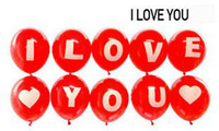 Wholesale love Balloon printing i love you birthday gift Style cuty balloon