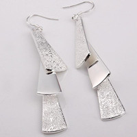 Wholesale lowest price Christmas gift Sterling Silver Fashion Earrings E15