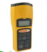Wholesale Ultrasonic Rangefinder Distance Measure Meter with Laser Pointer Tape Measure
