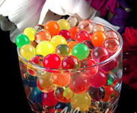 Wholesale 20kgs colors Water beads magic Crystal soil Jelly water muds for plant wedding party deco