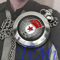 Wholesale Russia Army Pocket Watch Mens Auto Mechanical Collect hot