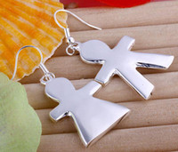 Wholesale lowest price Christmas gift Sterling Silver Fashion Earrings E78