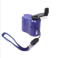 Wholesale 125pcs Hand Power Dynamo Hand Crank USB Cell Phone Emergency Charger
