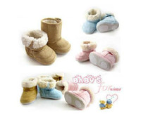 Wholesale 30pairs Baby Snow Boots Baby Boots Baby Shoes Baby Footwear Infant Shoes