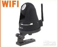 Wholesale Apexis Wireless Wired WiFi IR LED Nightvision Security IP Camera Black white