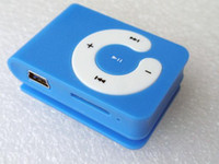 Free DHL 500pcs Mini clip mp3 player C Shape with Micro SD c...