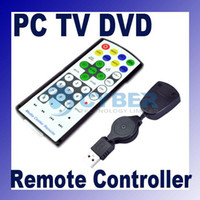 Wholesale Slim Super PC USB Windows Media Center Remote Control Controller TV DVD