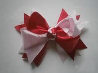 Lace  big hair bows - big hair bows fashionble children hair accessories Boutique hair bows ghy