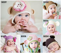 beanie babies huge - Huge Range to Choose Boys Girls Baby Children s Monkey Beanies Hats