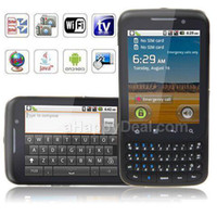 Wholesale F606 Full Qwerty Keyboard Dual SIM touch Screen Android Smart Phone w WIFI GPS TV