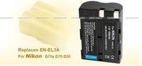 Wholesale 2x Li ion Battery EN EL3A for Nikon D70s D50 D100 from kakacola