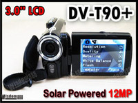 Wholesale DV T90 inch MP Solar Powered camera X Zoom DV Digital Video Camcorder