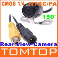 Wholesale Car rearview Camera Rear View mirror Reverse Backup camera Waterproof CMOS Nightvision camera K421