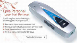 Wholesale EPILA Personal Laser Diode Hair Remover System Laser Hair Removal Electric Hair Shaver Via EMS