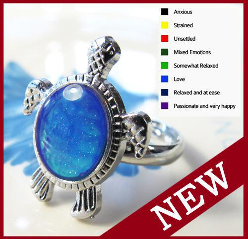 Turtle Mood Ring Color Meanings images