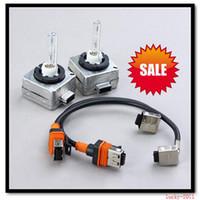 achat en gros de d1s d1c d1r-5 paires (2PCS PAIRE) D1 D1S D1R D1C Xenon HID Ampoule de rechange W / Titulaire connecteur 4.3k 6K 8K 10K 12K