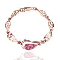 authentic swarovski bracelet - Hot new authentic Swarovski crystal bracelet in K rose gold fine fashion jewelry Piece