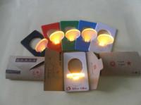 Wholesale Christmas super light LED Card Light Pocket light lightbulb