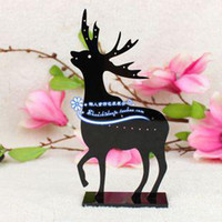 Earring acrylic earing stand - Acrylic Arenaceous Elk Earing Display Shelf Stand Jewelry Display