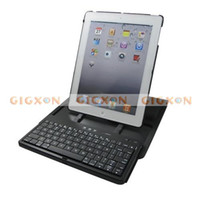 Wholesale 360 degree rotating bracket wireless Bluetooth keyboard Case for Tablet PC